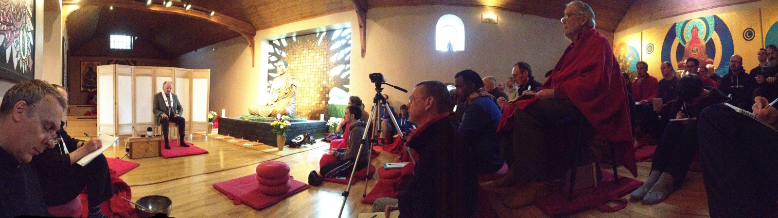 Ordination training retreat