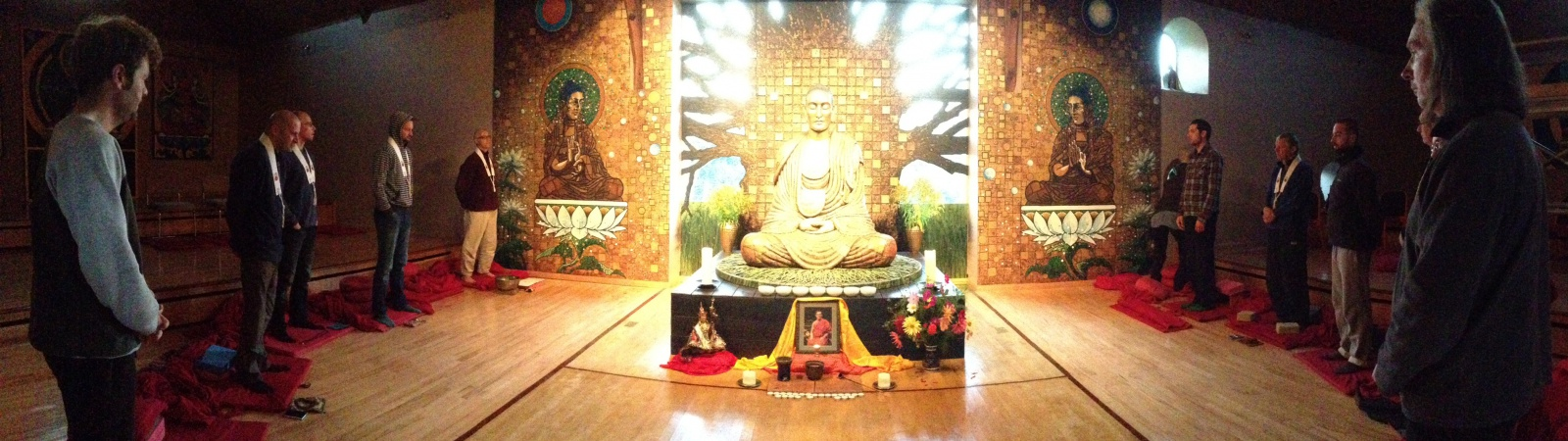 The Main Padmaloka Shrine