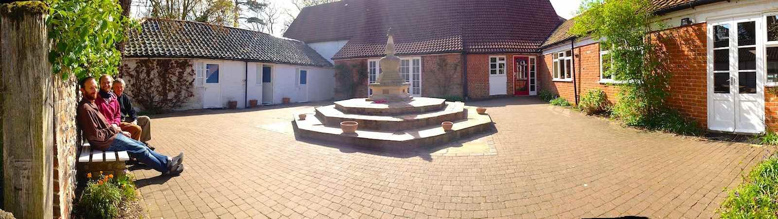 The Stupa courtyad
